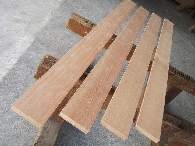 木材ピーラ無垢板1510×100×18A